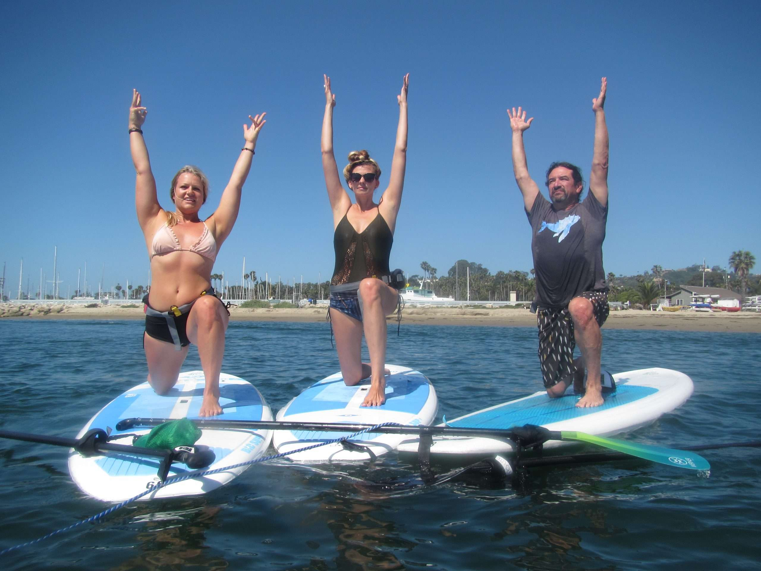 """Turns out Paddling is an excellent way to """"safely"""" socialize!"""