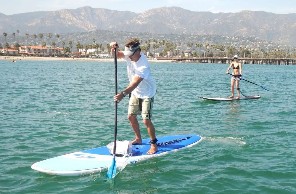 Leash Up for SUP