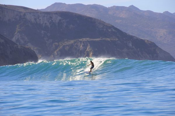 Standup Paddle board surfing