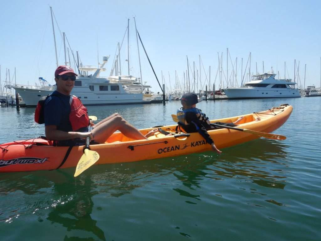 kayaking the harbo