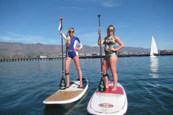 stand up paddleboard lessons santa barbara