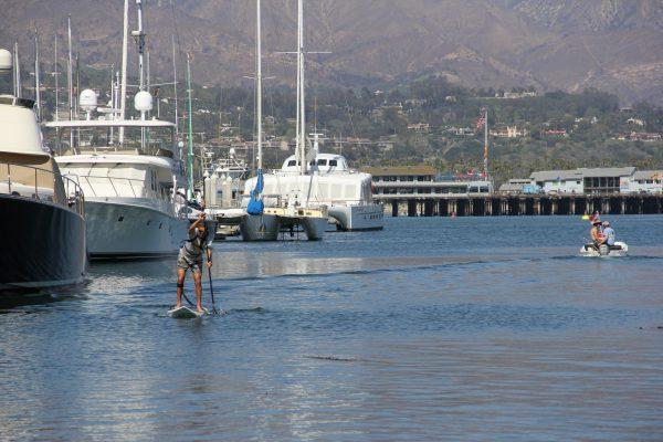 stand up paddleboard santa barbara harboar