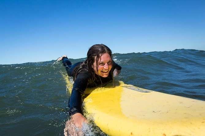 surfing in Santa Barbara California